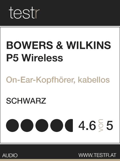 B&W P5 Wireless Test-Siegel